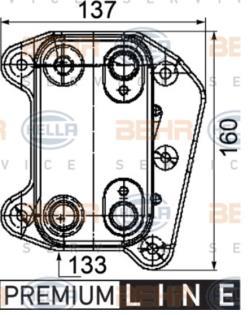 ΨΥΓΕΙΟ ΛΑΔΙΟΥ OM612 OM613 E-CLASS W210 E320 CDI M-CLASS W163 ML 270CDI