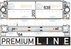 ΨΥΓΕΙΟ INTERCOOLER SPRINTER 906 + VW CRAFTER 30 - 50 2500cc TDI