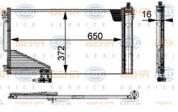 ΨΥΓΕΙΟ ΚΛΙΜΑΤΙΣΜΟΥ C-CLASS W203 CLC-CLASS CL203 CLK C209 A209 W209