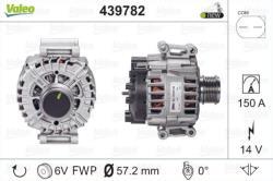ΔΥΝΑΜΟ VALEO 150A AUDI A6 + A6 Avant + A6Q 2001 - 2014 ( για οχήματα με αυτόματο κλιματισμό 2 ζωνών )