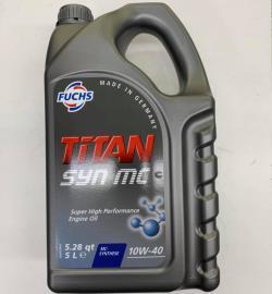 ΛΑΔΙ FUCHS 5L 10W-40 TITAN SYN MC VOLKSWAGEN VW 501.01 505.00 MERCEDES 229.3 229.1